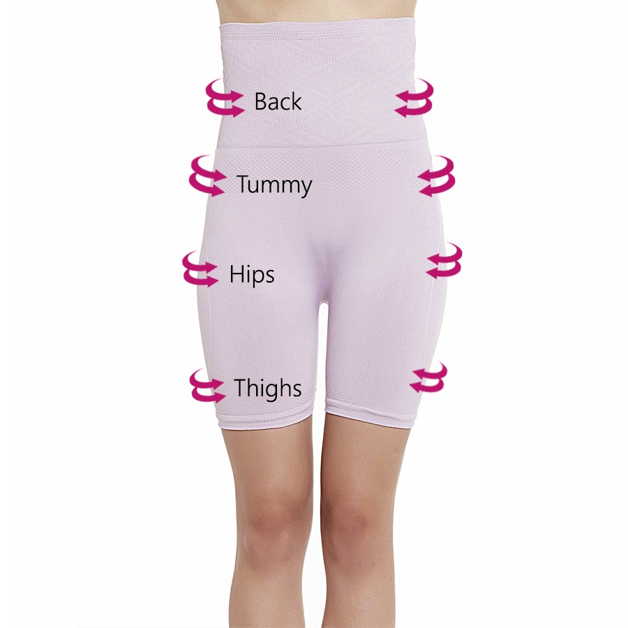 4-In-1 Shaper - Tummy, Back, Thighs, Hips - Lavender