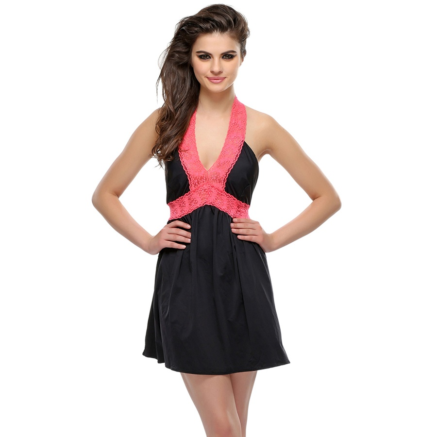 Black Short Night slip