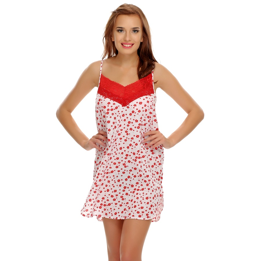 Floral Lacy Cute Nightdress