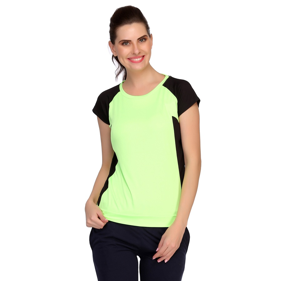 Lightweight Polyester Blended Sports T-Shirt