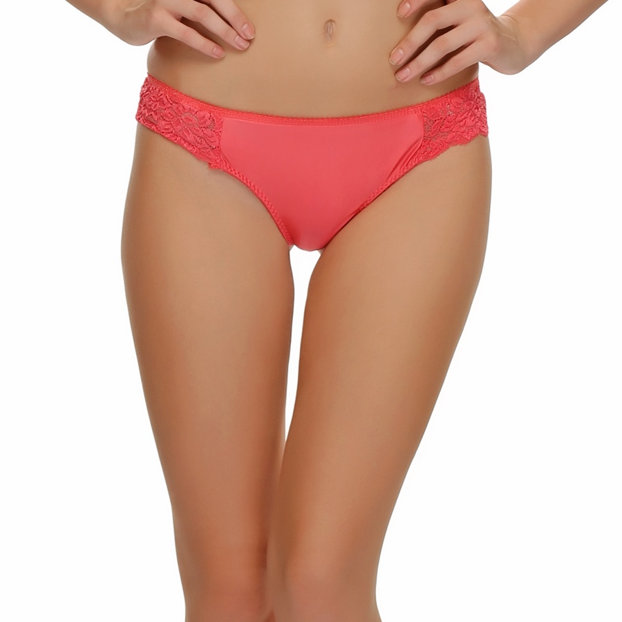 Fashion Thong in Coral