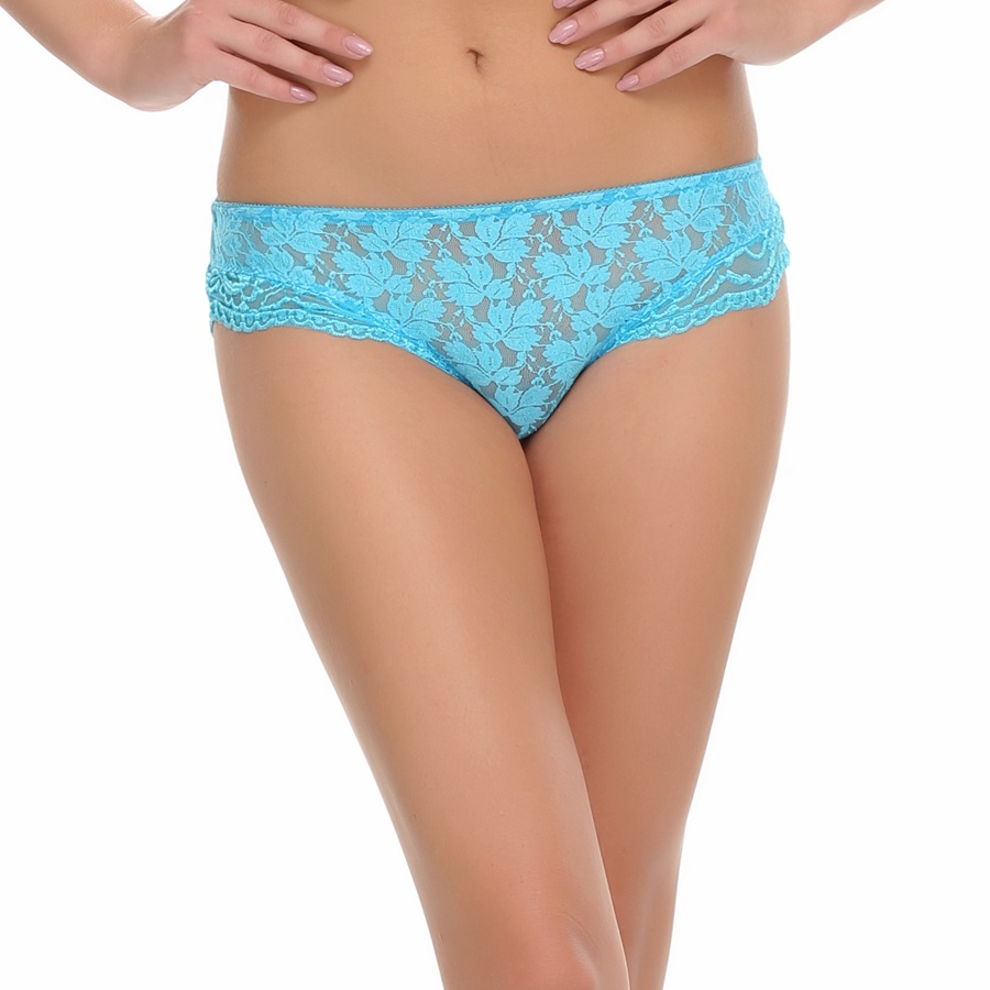 Sexy Lace Panty In Light Blue