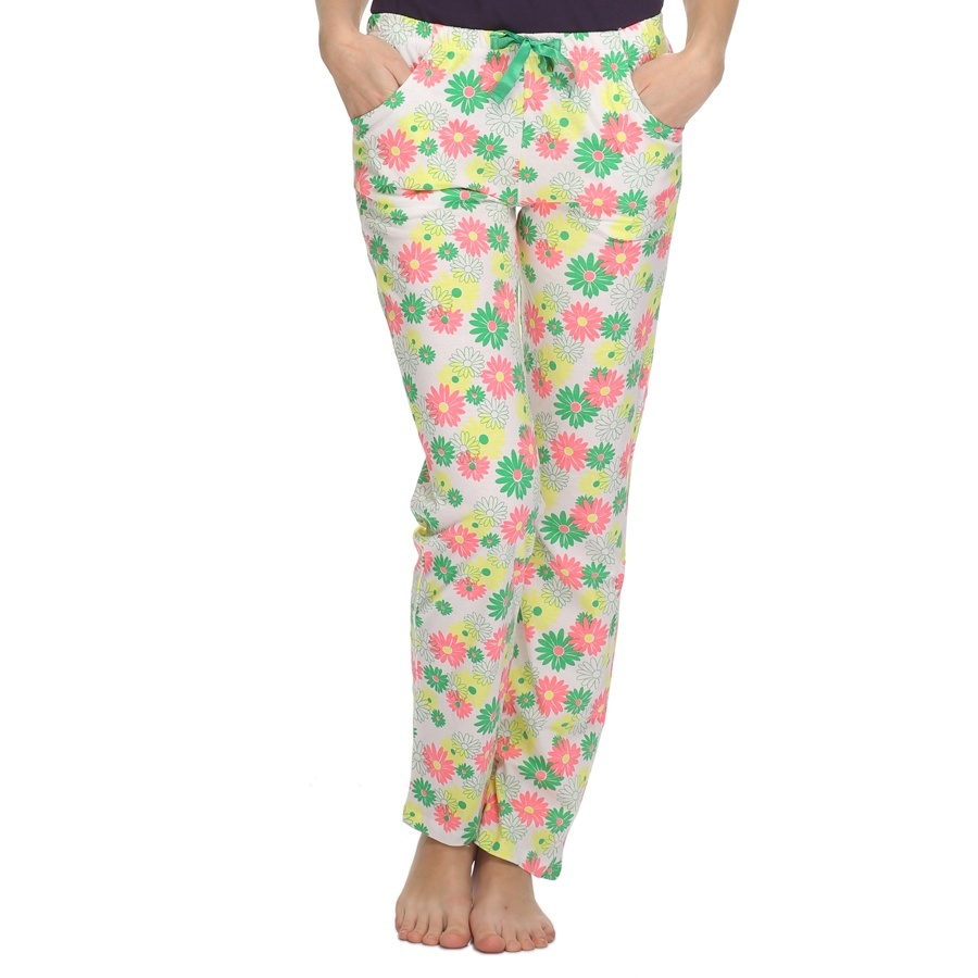 Flower Print Cotton Pyjama