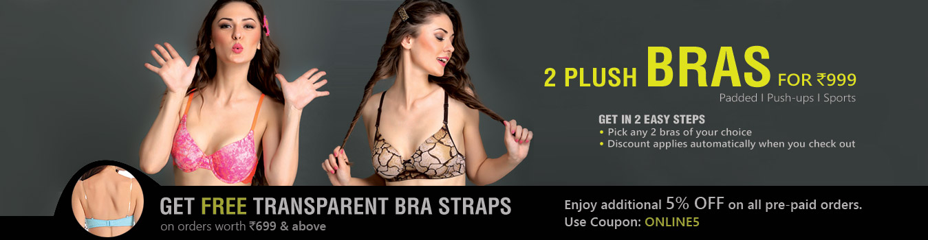 Push up Bra Set