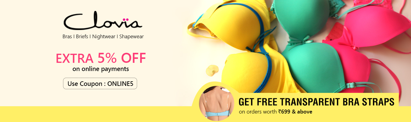 get hooked with Clovia bras, bra, bra shopping