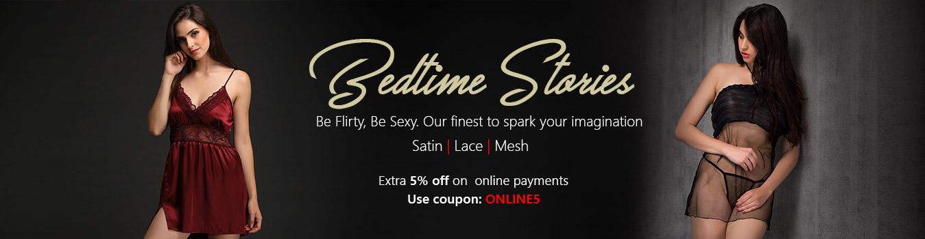 Buy Sexy nightwear for women online at Clovia
